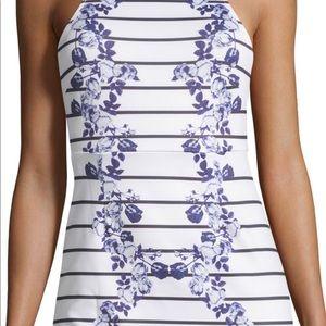 MINKPINK floral halter dress